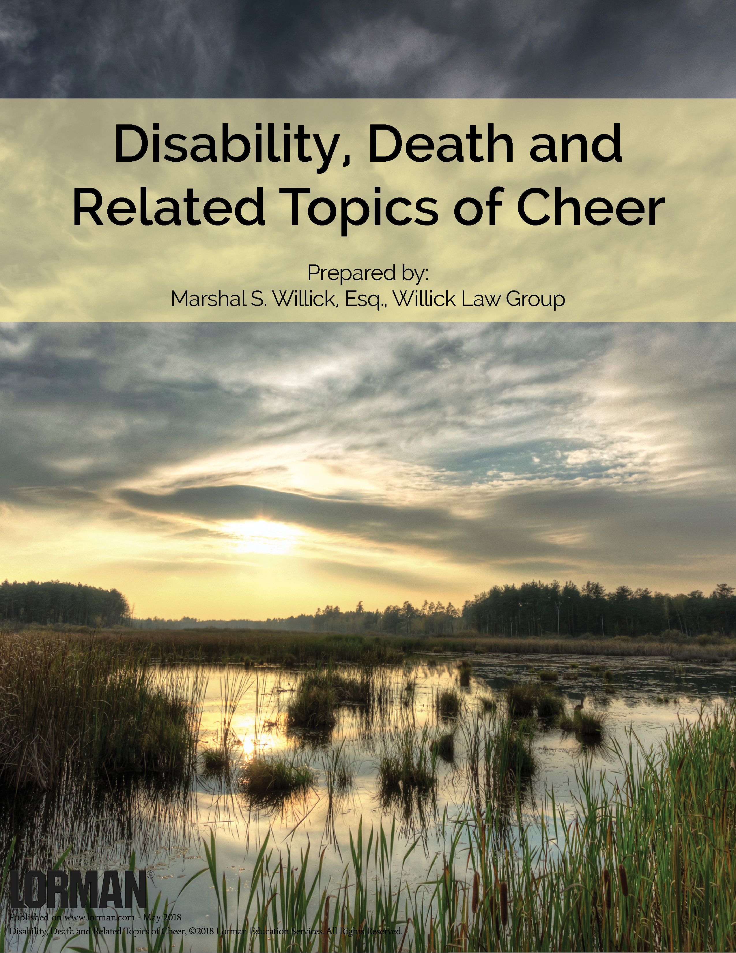 Disability, Death and Related Topics of Cheer