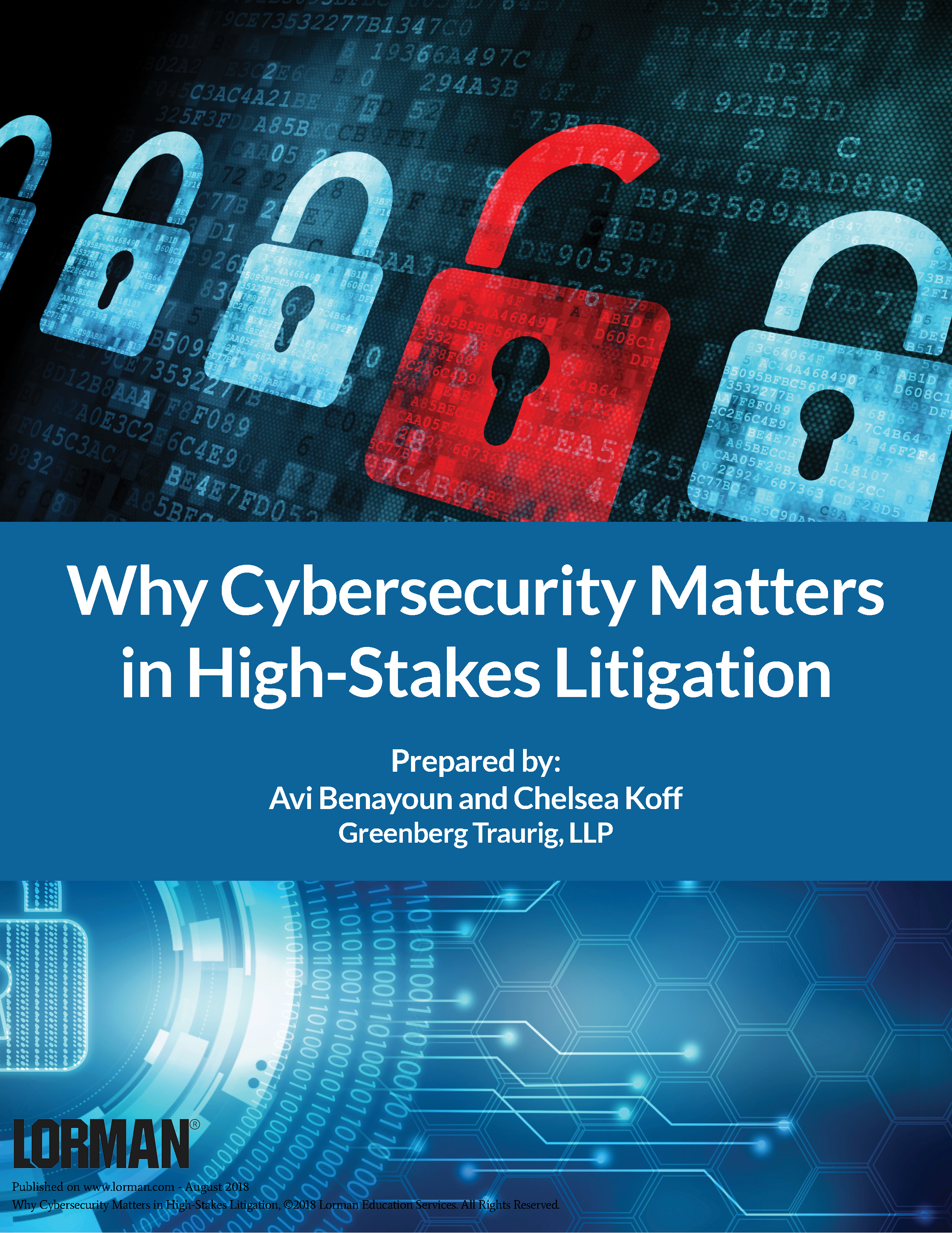 Why Cybersecurity Matters in High-Stakes Litigation