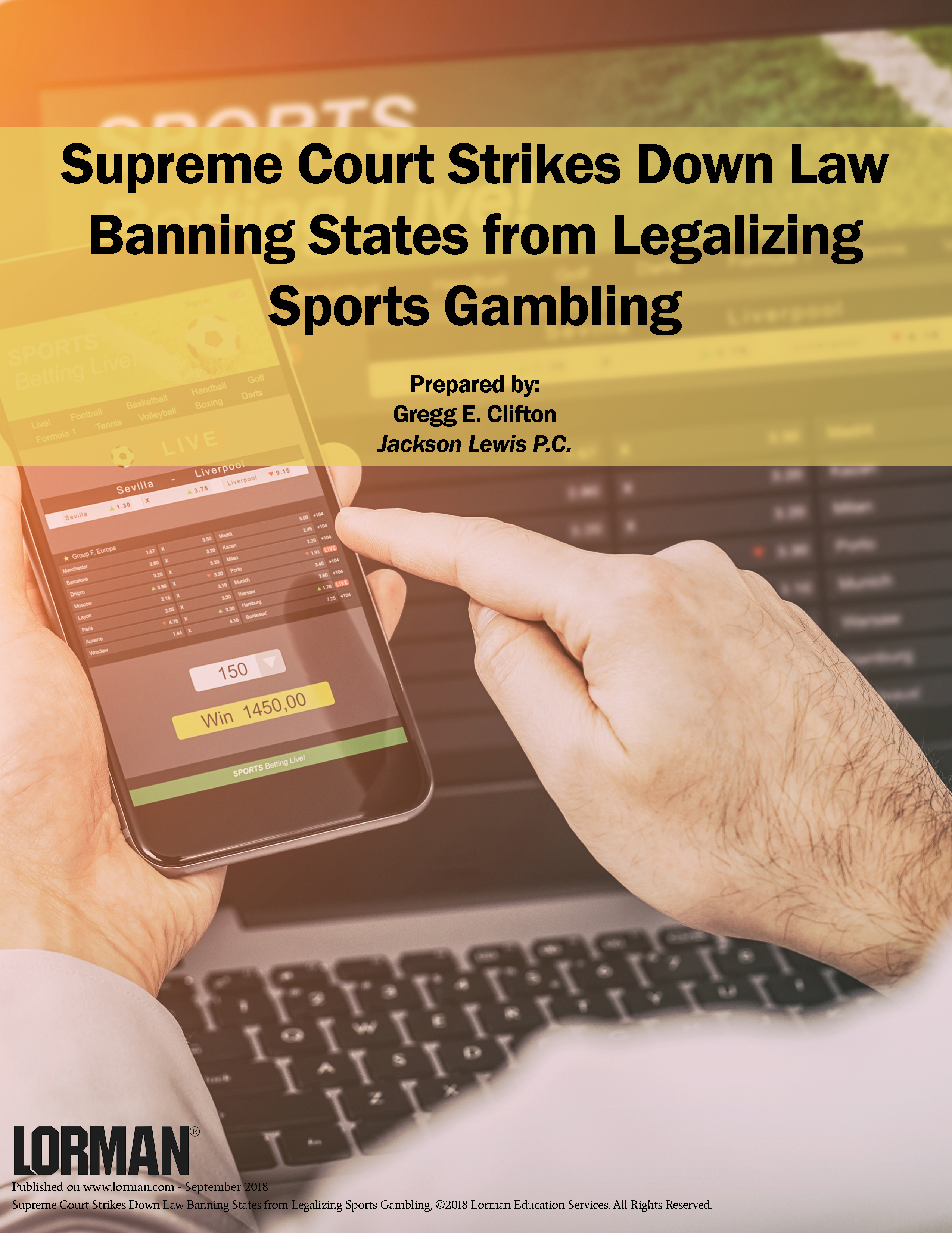 Supreme Court Strikes Down Law Banning States from Legalizing Sports Gambling
