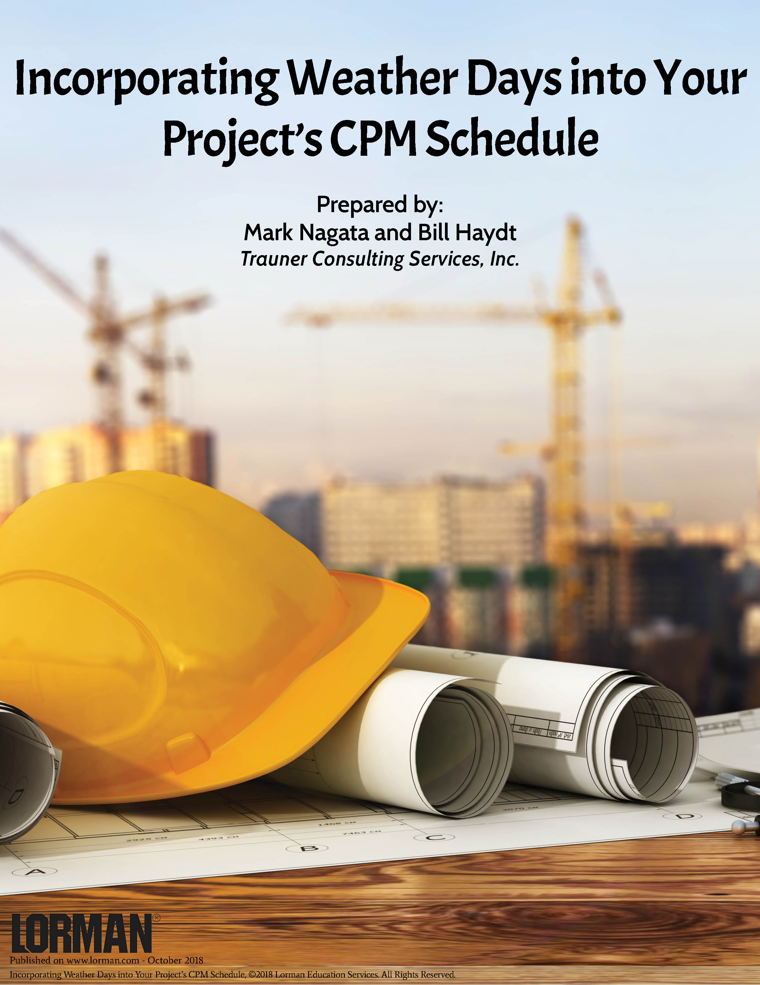 Incorporating Weather Days into Your Project's CPM Schedule