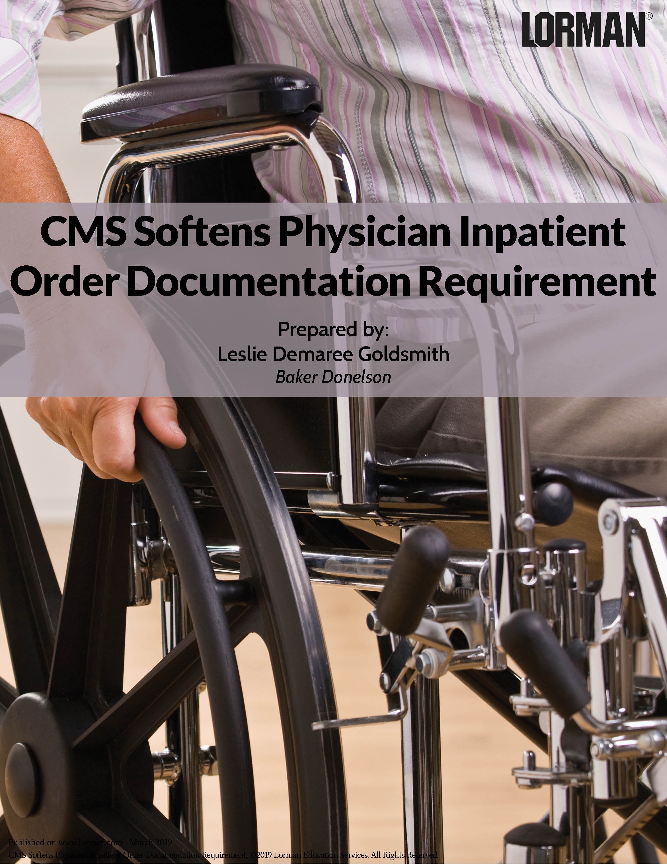 CMS Softens Physician Inpatient Order Documentation Requirement