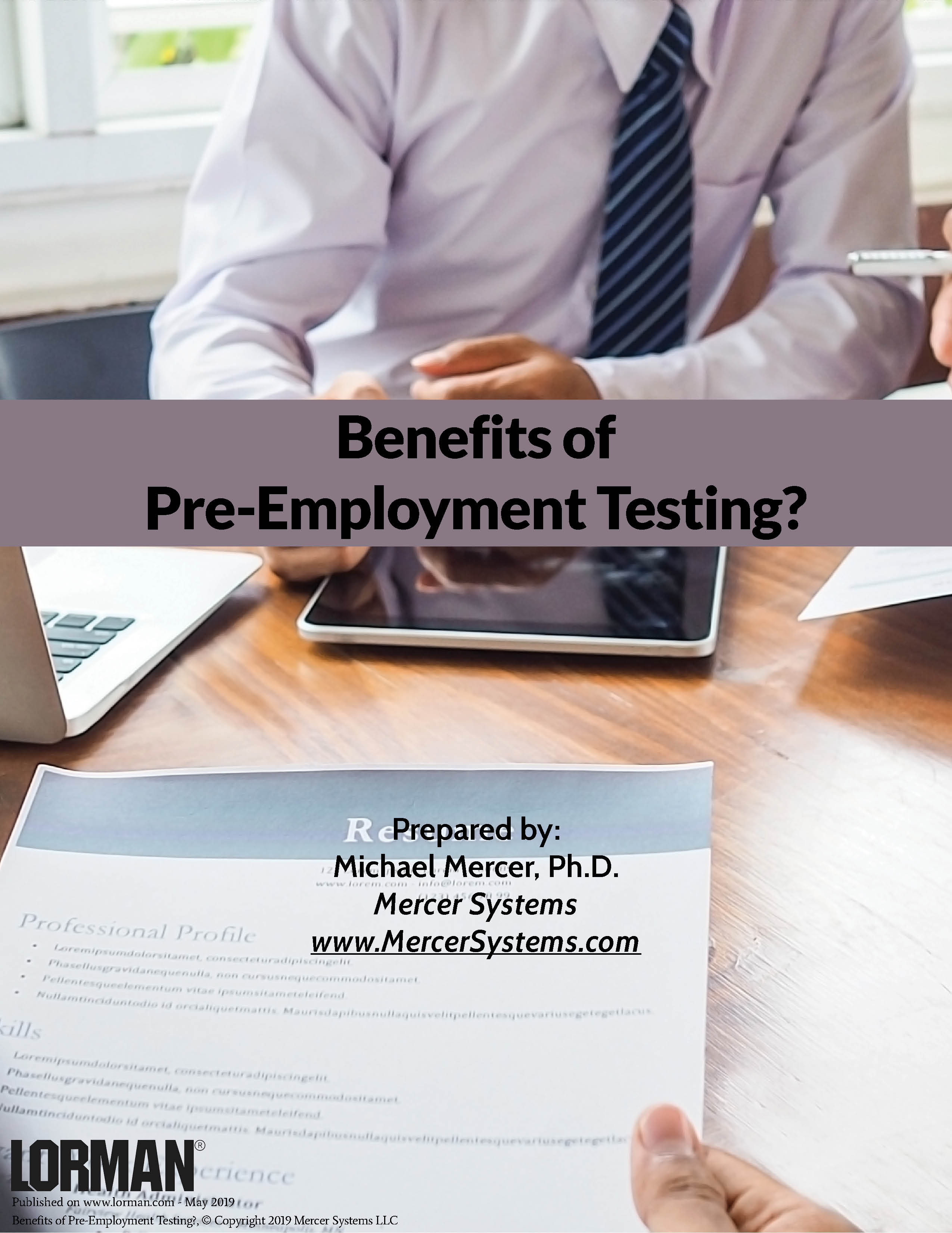 Benefits of Pre-Employment Testing?