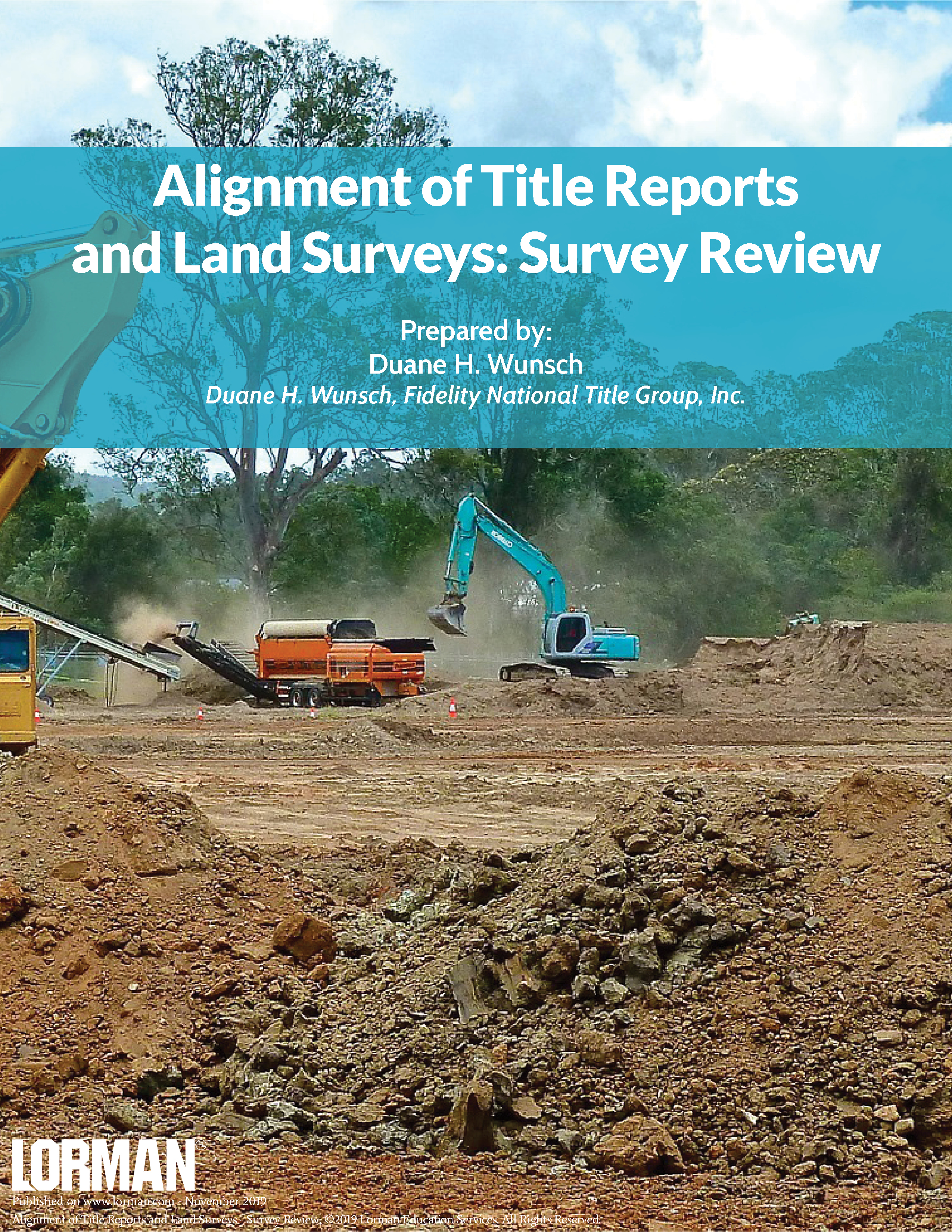 Alignment of Title Reports and Land Surveys - Survey Review